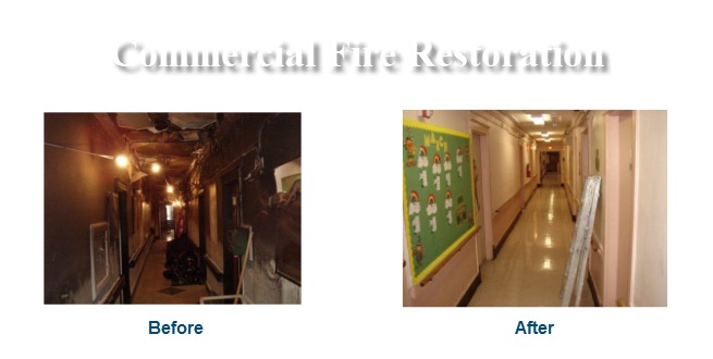 Commercial Fire Restoration